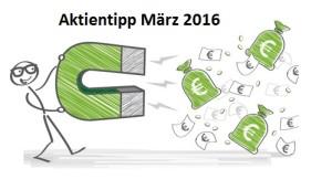Aktientipp März 2016