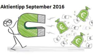 Aktientipp September 2016