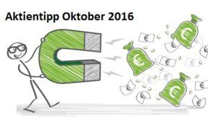 Aktientipp Oktober 2016