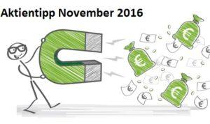Aktientipp November 2016