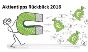 Aktientipps Rückblick 2016