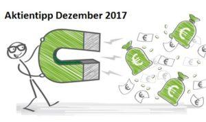 Aktientipp Dezember 2017