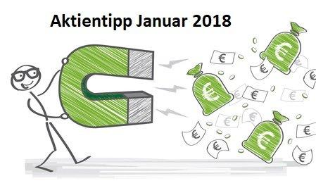 Aktientipp Januar 2018